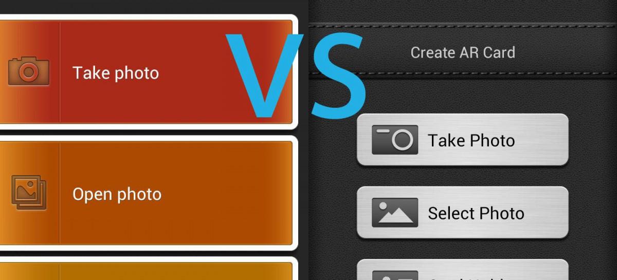 Vergleichstest von Visitenkartenlesern für Android