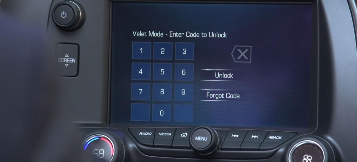 Corvette 2015 kommt mit Valet Mode and Performance Data Recorder