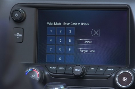 Corvette 2015 kommt mit Valet Mode and Performance Data Recorder