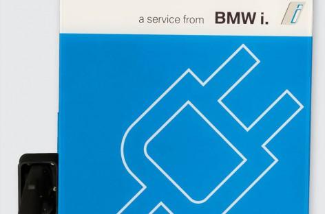 BMW i DC Schnell-Lader heute auf der Plug-in in San Jose vorgestellt