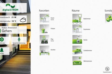 DigitalStrom Home Control jetzt auch als Windows App verfügbar.