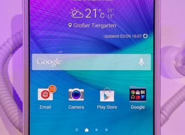 IFA 2014: Galaxy Note 4 von Samsung vorgestellt