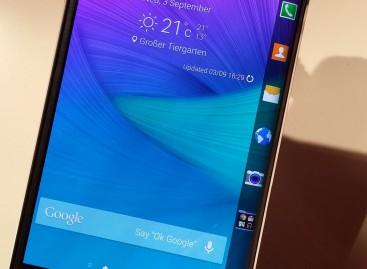 IFA 2014: Samsung präsentiert Galaxy Note Edge