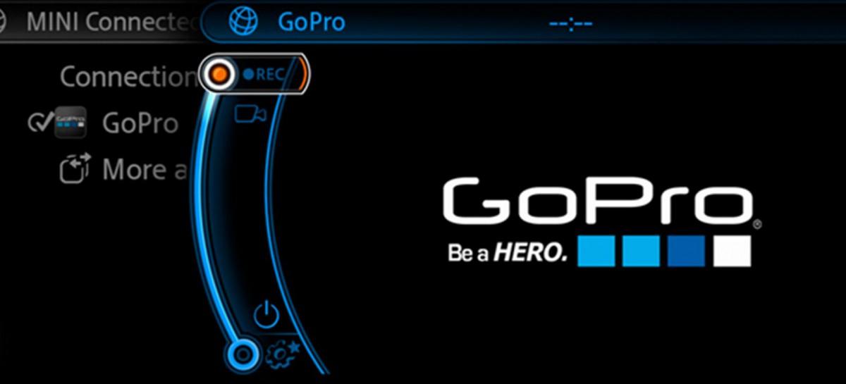 Mini ermöglicht die Steuerung von GoPro Kameras