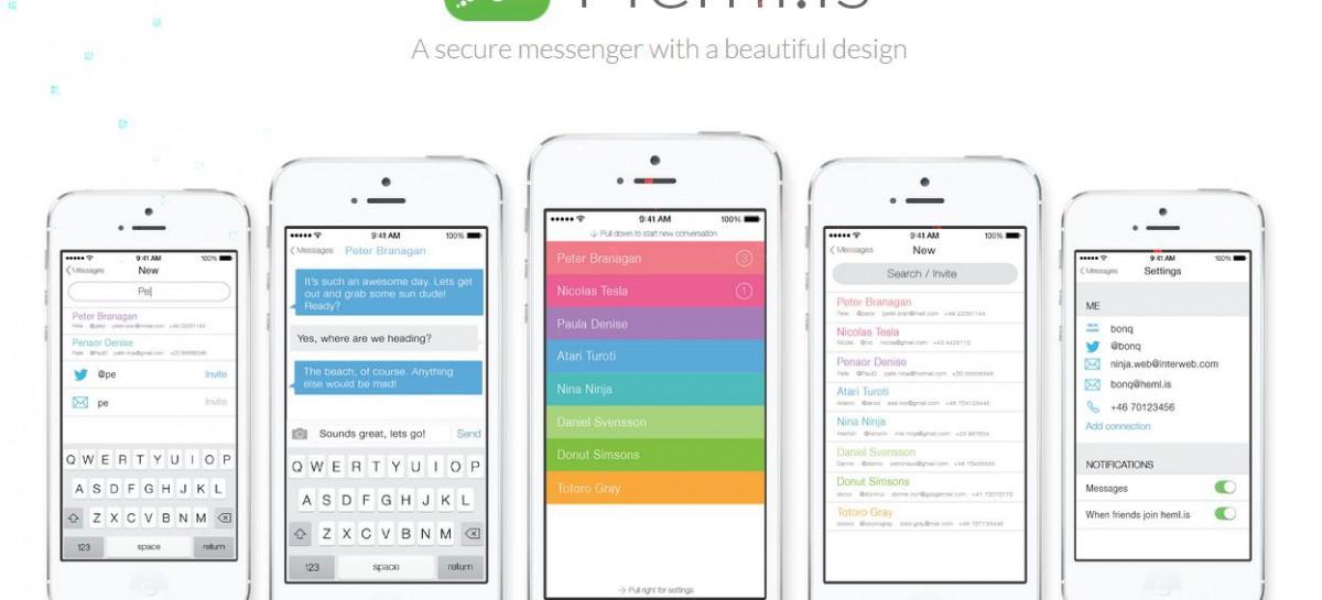 Hemlis: Ein neuer Chatdienst mit Verschlüsselung bahnt sich seinen Weg