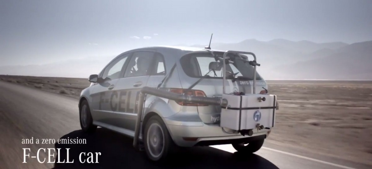 Mercedes Benz F-Cell: Überleben im Death Valley