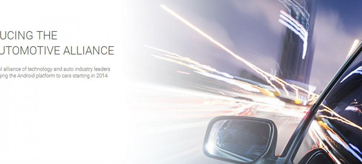 Open Automotive Alliance bringt Android ins Fahrzeug