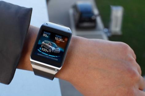 BMW verbindet die Samsung Galaxy Gear mit dem BMW i3