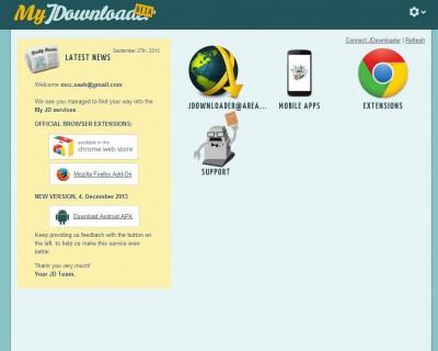 my.jdownloader-dashboard