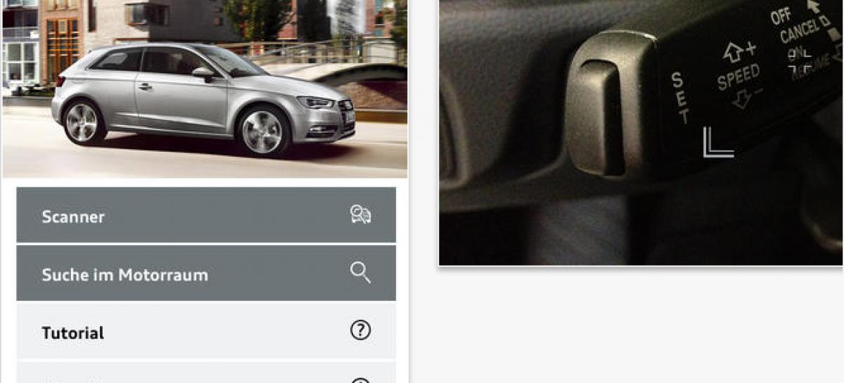 Audi und Metaio mit interaktivem Handbuch für den neuen A3