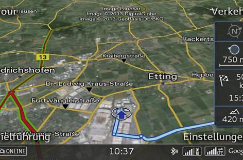 Audi bringt LTE ins Auto