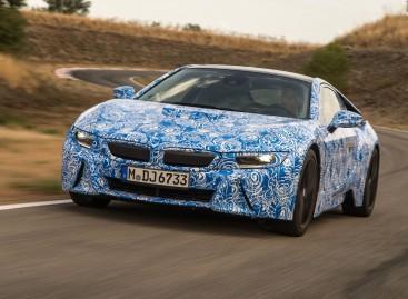 Präsentation des BMW i8 am 10. September