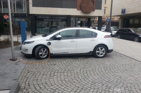 Chevy Volt als Travel Bug