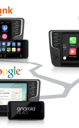 Volkswagen mit CarPlay, Android Auto und MirrorLink