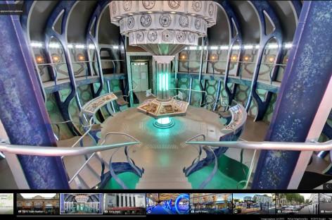 Google Street View: Dr. Who's TARDIS von Innen und außen zu betrachten mit Google Street View