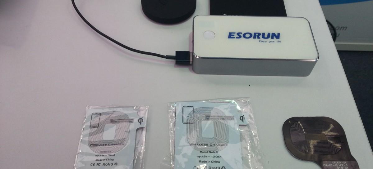 IFA: Esorun zeigt wireless-charging Station