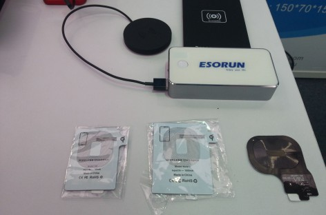 IFA: Esorun zeigt wireless-charging Station