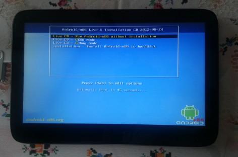 Android 4.0.4 auf einem WeTab oder ExoPC installieren