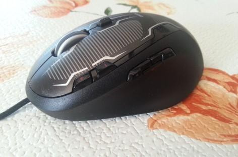 [Review] Logitech G500s Gaming-Mouse ausgepackt und angespielt