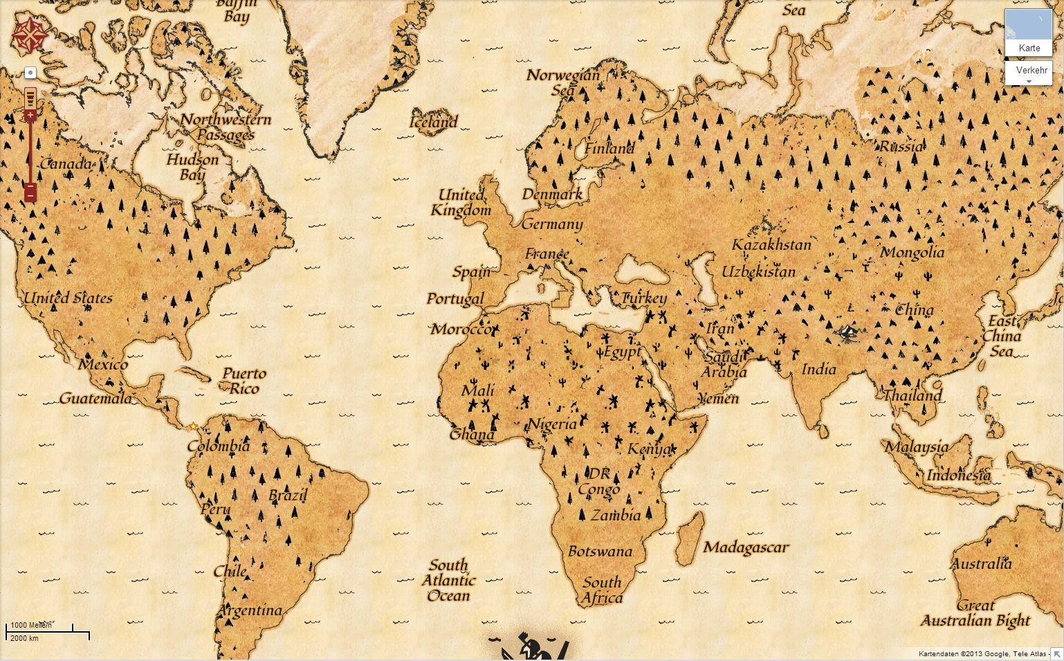 Google Maps Die Welt Als Schatzkarte Mobtivity