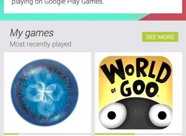 Google Play Games mit Easter Egg