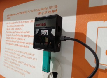 "IFA: Hama zeigt Wi-Fi Datenleser ""Pro"" SD/USB"