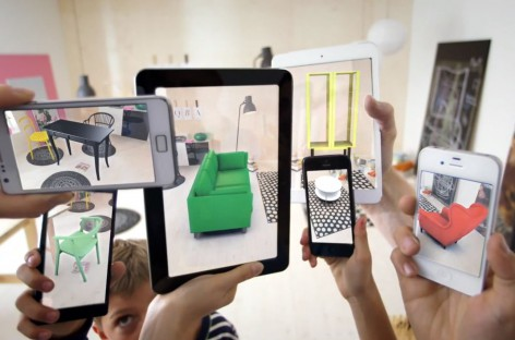 Ikea Katalog 2014 mit Augmented Reality