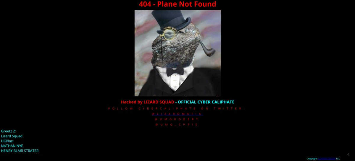 Malaysia Airlines Webseite gehackt