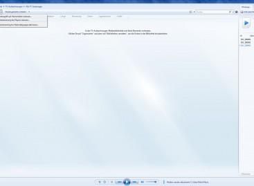 Streamen auf den Windows PC mit Bordmitteln