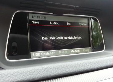 Was tun wenn euer USB-Stick im Mercedes Benz Fahrzeug nicht erkannt wird.