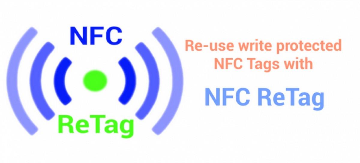 Mit NFC ReTag auch schreibgeschützte Tags verwenden