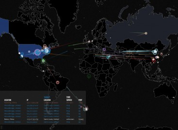 Cyber War live verfolgen: Cyber War World Map