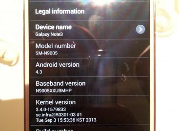 RegionLock Away für Samsung Galaxy Note 3