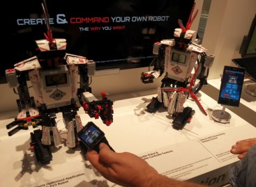 Lego Roboter mit Sony Smartwatch SW2 fernsteuern