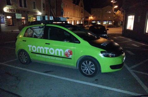 TomTom Mapping-Fahrzeug bei mir in der Gegend entdeckt