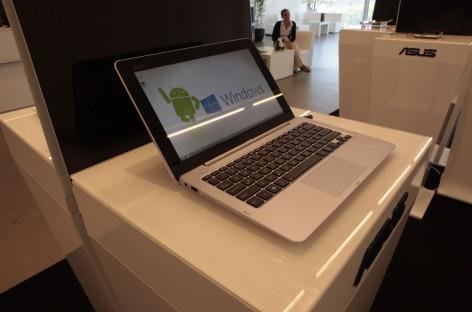 IFA: Asus zeigt Transformer Book Trio. 3 in 1 PC mit Android und Windows