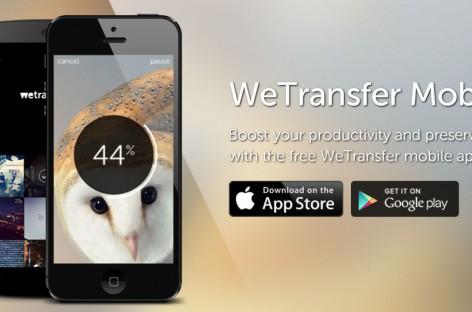 WeTransfer: Teilen von bis zu 10 GB leicht gemacht