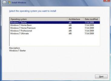 Windows 7 Installations DVD/Stick erstellen mit mehreren Versionen
