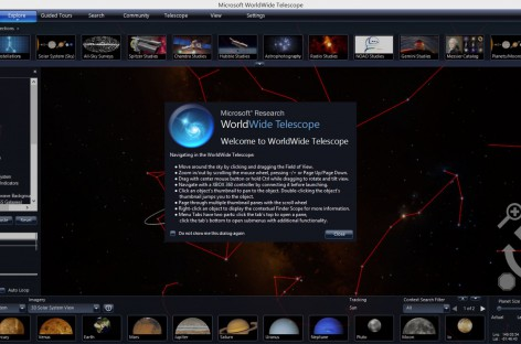 Microsoft WorldWide Telescope ist nun OpenSource