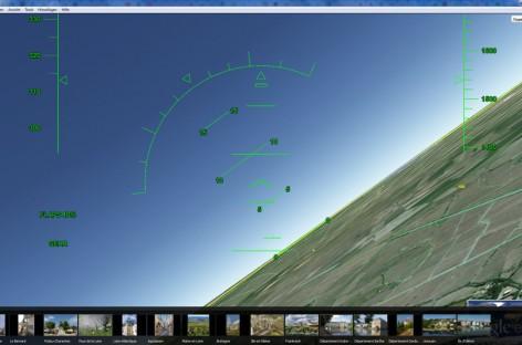 Google Earth kommt mit Flugsimulator