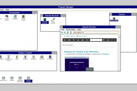 Windows 3.1 Online Emulator