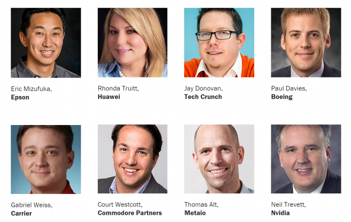Speakers at the insideAR 2015 in San Francisco