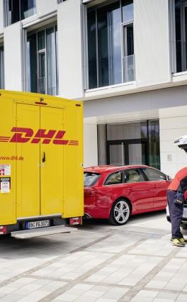 Neuer Logistik-Service von Audi, DHL und Amazon