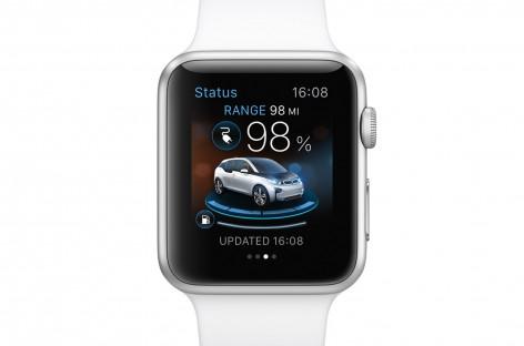 Apple Watch steuert Fahrzeugfunktionen von BMW i Modellen