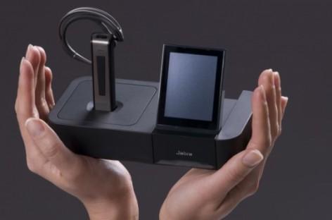 [Review] Jabra GO 6470 Bluetooth-Headset: Basisstation mit Touchscreen