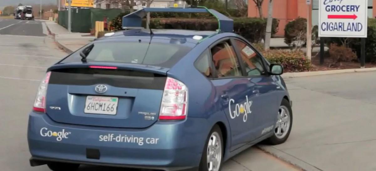 Google self-driving car: blinder Passagier