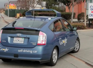 Google self-driving car: blinder Passagier